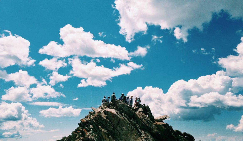 tour guide on mountain